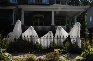 These ghosts are primed and ready to provide a ghoulish Halloween.
