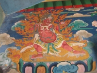 Another of the Tibetan wrathful deities.